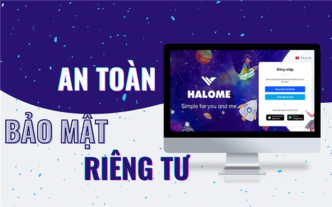 """Hahalolo giới thiệu ứng dụng nhắn tin đa nền tảng """"Make in Viet Nam"""" Halome"""