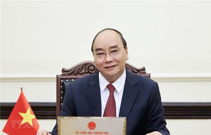 Chủ tịch nước mong Hoa Kỳ tiếp tục hỗ trợ Việt Nam chống COVID-19