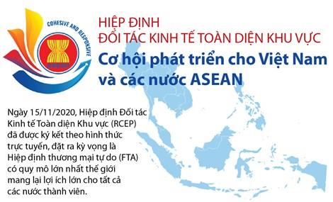 Hiệp định RCEP Cơ hội phát triển cho Việt Nam và các nước ASEAN