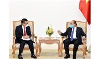 Thủ tướng Nguyễn Xuân Phúc tiếp Chủ tịch Tập đoàn SCG Thái-lan