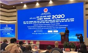 Xúc tiến thương mại 'Bệ đỡ' nâng giá trị hàng xuất khẩu của Việt Nam