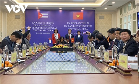 Nâng kim ngạch thương mại Việt Nam-Cuba lên 500 triệu USD vào năm 2025