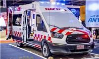Ford Transit được ưa chuộng tại thị trường Trung Đông làm xe cứu thương