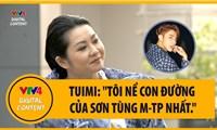 """Nghệ sĩ Tuimi:""""Ở Việt Nam, tôi nể phục con đường của Sơn Tùng M-TP nhất."""""""