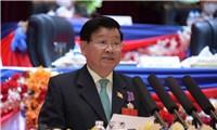 Điện mừng Tổng Bí thư BCH Trung ương Đảng Nhân dân Cách mạng Lào