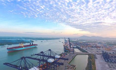 Cảng Cái Mép của Việt Nam mở rộng phát triển