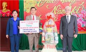 Đoàn đại biểu các tỉnh Campuchia chúc Tết tỉnh Bình Phước