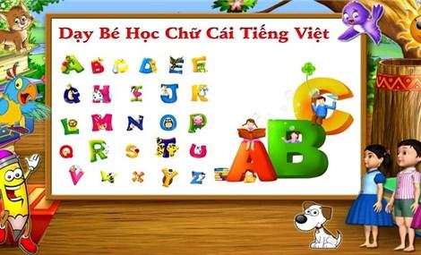 Dạy bé học tiếng Việt