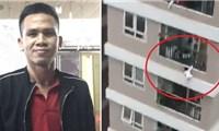 Người hùng nói gì sau khi cứu cháu bé rơi từ tầng 13 chung cư
