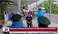 Người dân ồ ạt về nước khi dịch bệnh bùng phát tại Campuchia