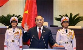 Lễ tuyên thệ nhậm chức của Chủ Tịch nước Nguyễn Xuân Phúc