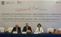 Ra mắt Thư viện số Pháp - Việt Nam