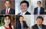 Six Vietnamese billionaires on Forbes list