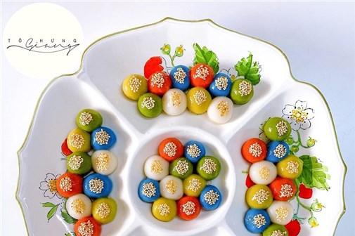 Hanoi special sweet dumplings for Han Thuc Festival