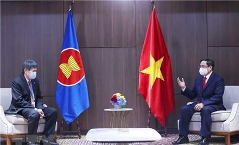 PM Pham Minh Chinh receives ASEAN Secretary General