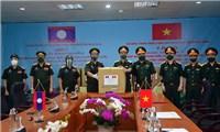 Bộ quốc phòng hỗ trợ quân đội Lào phòng chống dịch
