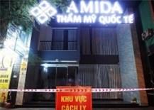 Tổng giám đốc thẩm mỹ viện AMIDA mắc Covid-19 tại Đà Nẵng