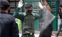 Lây nhiễm COVID-19 trong lực lượng chống dịch Campuchia