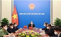 Chủ tịch Trung Quốc Tập Cận Bình mong muốn xây dựng một cộng đồng chiến lược cùng chia sẻ tương lai chung với Việt Nam