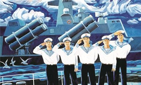 诗歌旋律激发着海军军人对祖国的热爱之情