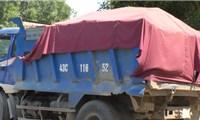 Phú Ninh (Quảng Nam):  Xe cơi nới, có dấu hiệu quá tải ngang nhiên hoạt động