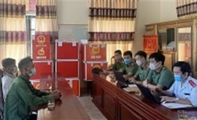 Hà Tĩnh: Xúc phạm lực lượng công an, 2 đối tượng bị xử phạt 10 triệu đồng