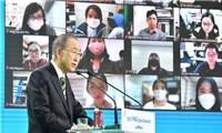 Lãnh đạo cấp cao các nước tham dự phiên thảo luận cấp cao Hội nghị P4G