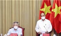 Chủ tịch nước họp về tình hình giải quyết hồ sơán tử hình