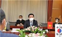 Tăng cường quan hệ thương mại Việt Nam - Hàn Quốc