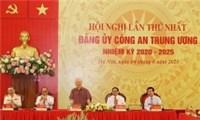 Ba lãnh đạo chủ chốt tham gia Đảng ủy Công an Trung ương