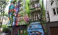 Những bức tường hóa tác phẩm Graffiti
