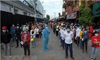 Số ca mắc COVID-19 tại Campuchia tiếp tục tăng