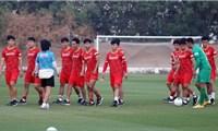 Đội tuyển Việt Nam sẵn sàng cho trận gặp Malaysia