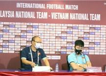 Trước cuộc đối đầu với ĐT Malaysia: Thầy trò HLV Park Hang Seo tự tin chiến thắng