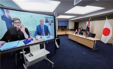 Hội đàm an ninh trực tuyến Nhật Bản – Australia về sự gia tăng hiện diện quân sự trên biển của Trung Quốc