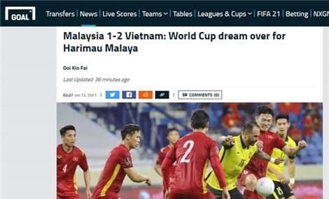 Truyền thông châu Á ngợi khen chiến thắng của Việt Nam