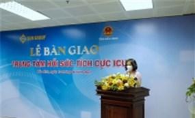 """Đưa vào hoạt động Trung tâm Hồi sức tích cực cho """"tâm dịch"""" Bắc Ninh do Sun Group tài trợ"""