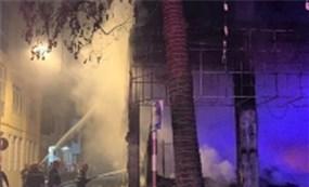 Cháy phòng trà lúc nữa đêm, 6 người tử vong tại Nghệ An