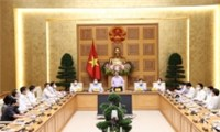 Thủ tướng Chính  phủ Phạm Minh Chính gặp mặt các cơ quan báo chí nhân kỷ niệm 96 năm Ngày báo chí cách mạng Việt Nam
