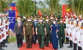 Khánh thành Cụm công trình lưu niệm về Thủ tướng Campuchia