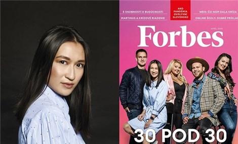 Cô gái Việt bán phở bò Nam Định ở trời Âu được chọn vào danh sách Forbes Under 30 ở Slovakia