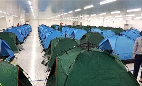 Ngủ tại nhà máy giúp bảo vệ công nhân Việt Nam trước đợt dịch Covid-19