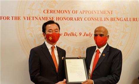 Việt Nam bổ nhiệm Tổng Lãnh sự danh dự đầu tiên tại Ấn Độ