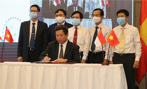 Electricity corporation, Singaporean group sign strategic cooperation