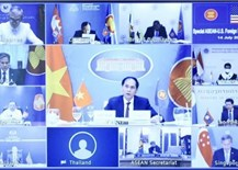 ASEAN, US agree to boost consultation, dialogue, cooperation