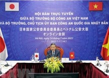 Vietnam, Japan boost ties in public security