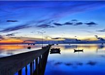 Fishing village on Pearl Island