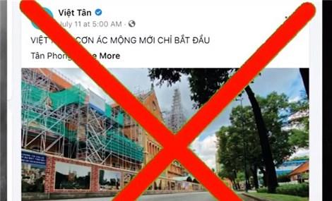 Phản bác thông tin sai lệch về chính sách chống dịch của Việt Nam