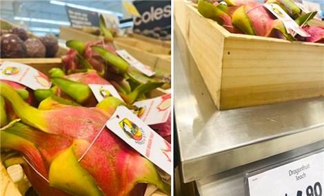 Australian consumers enjoy Vietnamese dragon fruit at trade fair