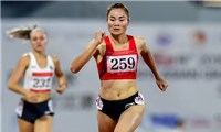 Vượt qua vòng loại, Quách Thị Lan vào bán kết 400m rào nữ
